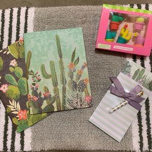 🌵 🎁 Gift Set Cactus Edition - Notebook/Eraser